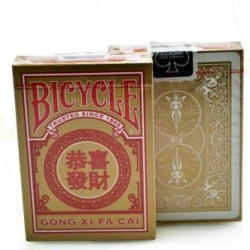 Karty Bicycle GONG Xi Fa Cai - USPC